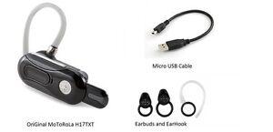 daf8bc51649 Image is loading Motorola-H17-TXT-AutoFlip-Black-Headset-play-music-