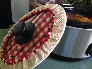 Slow-Cooker-Covers-Lge-OVAL-5-7-Litre-34cm-x-27cm-measure-lid-amp-see-descriptn
