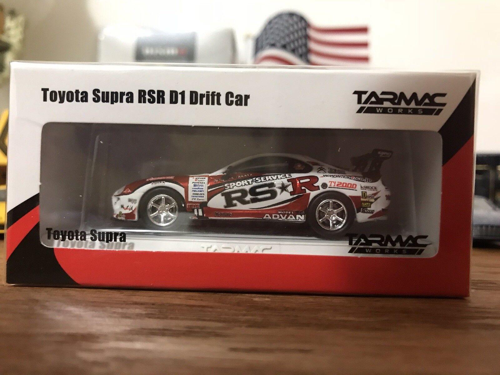 Tarmac Works 1 64 Toyota Supra RSR D1 Drift Car Special Edition New