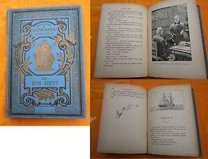 Livre-Ancien-Mlle-LE-JEUNE-CE-BON-LOFF-1892-Theatre-Belle-edition