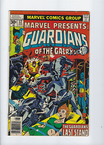 Marvel-Presents-12-Guardians-of-the-Galaxy-Marvel-Comics-Bronze-Age-1977-Fine
