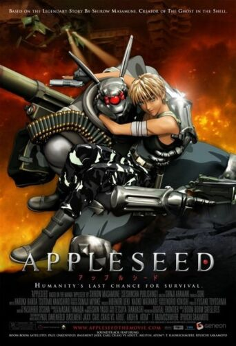 1 of 1 - Appleseed (DVD, 2005, 2-Disc Set) VGC Pre-owned (D103)