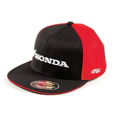 Factory Effex Honda Horizontal Baseball T-Shirt Adult Black Grey CRF CR CBR NEW