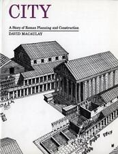 City : A Story of Roman Planning and Construction by David Macaulay (1983, Paperback)