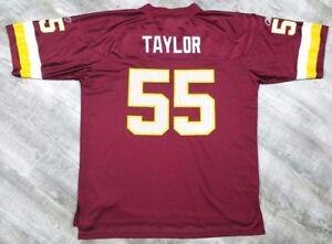 Image is loading Washington-Redskins-Jason-Taylor-55-Reebok-Jersey-Men- a8085439f