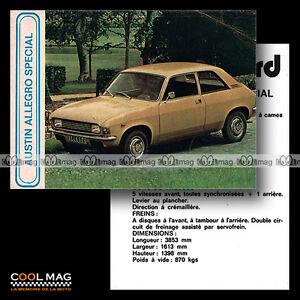 AUSTIN-ALLEGRO-1500-SPECIAL-Fiche-Auto-Autocard-43