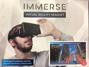 debb5c25d60 Thumbs Up Immerse Virtual Reality Headset - Watch 3D Movies Videos ...