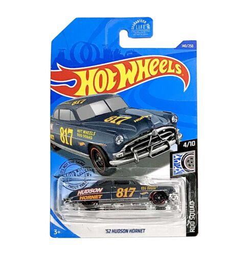 Hot Wheels 2020 HW Rod Squad '52 HUDSON HORNET 1:64 Scale Die-cast Gray 140//250
