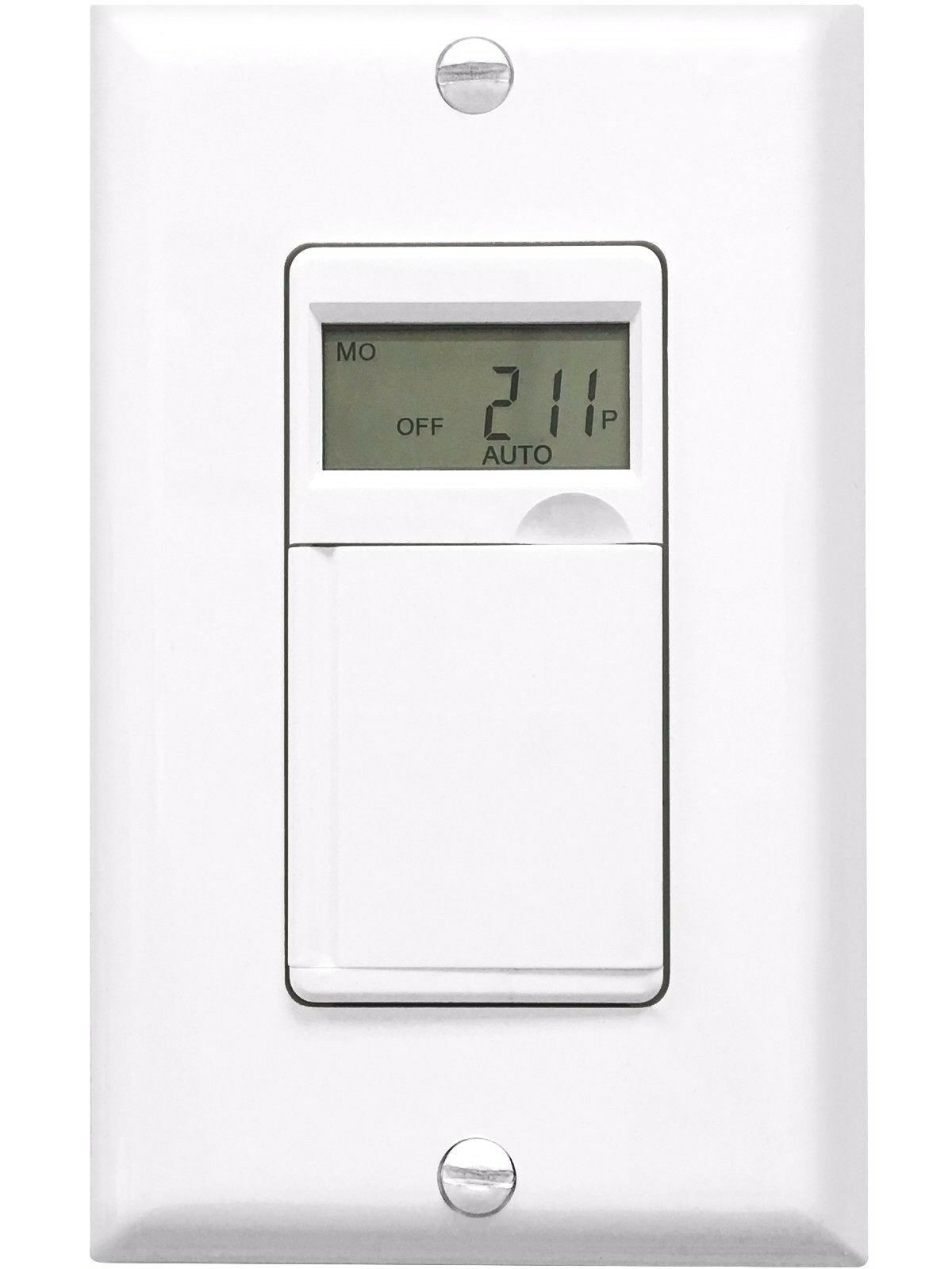 7 Day Digital Lcd Programmable Timer In Wall Outlet Light