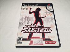 Dance Dance Revolution Supernova (PS2) Black Label Complete Excellent!