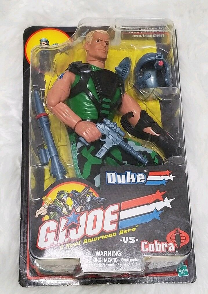 Gi Joe vs. Cobra Duke 12  figure 2001 Hasbro - New in Box