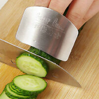 Stainless Steel Kitchen Protector You Finger Hand Cut Vegetable Safety Tool V