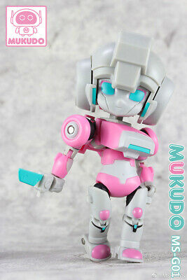 IN STOCK New MS-TOYS MS-G01 Transformable Robot Peach Girl Arcee Action Figure