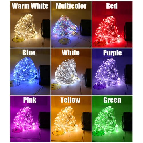 Solar Power Lamp LED String Fairy Lights Garlands Garden Christmas Decor Outdoor