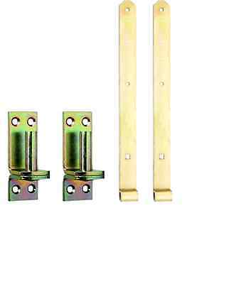 "2 Ladenbänder Torbänder Torband mit Kloben D I - 10"""