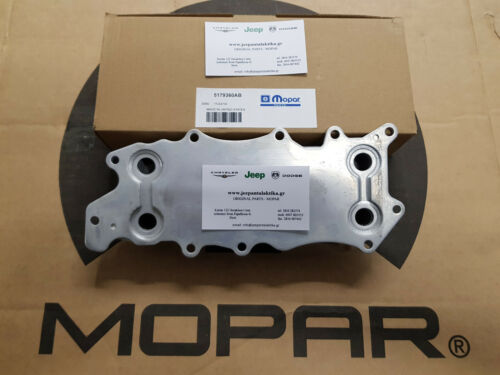 WH 3.0L CRD 05-10 New Mopar 5179360AB Engine Oil Cooler Jeep Grand Cherokee WK