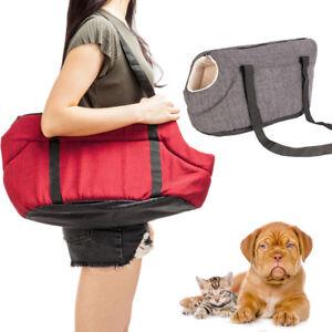 fa7b2c873b Light Pet Carrier Tote Cat Dog Comfort Travel Bag Gray /Rose Red S/M ...