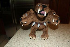 "Harry Potter Fluffy 3 Headed Dog Stuffed Animal Plush Gund 10"" Cerebrus"