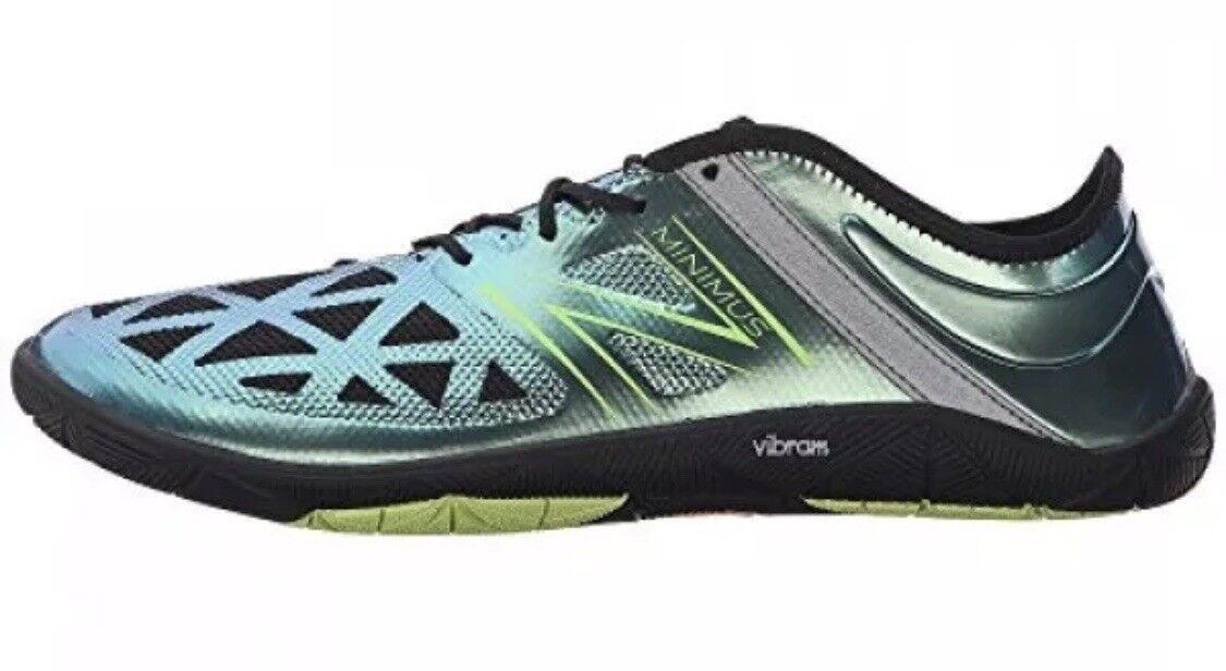 Sizes US 10 10.5 Men's New Balance Minimus Training shoes Vibram UX200V1 Toxic