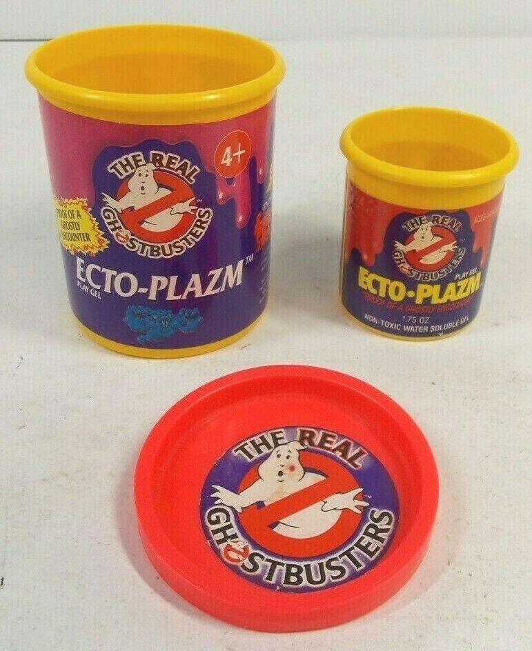 Jahr REAL GHOSTbusTERS EMPTY ECTO-PLAZM CANS KENNER 1984