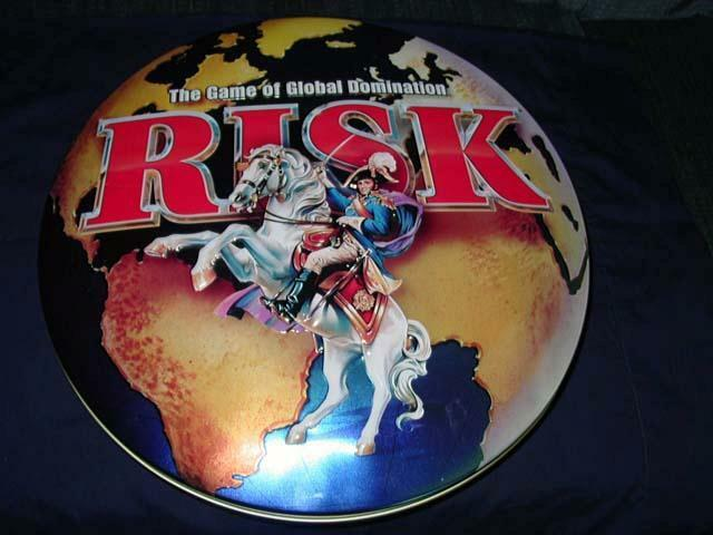 RISK - Game of Global Domination - Parker Bredhers - Ages 10+ - 2 to 6 Players