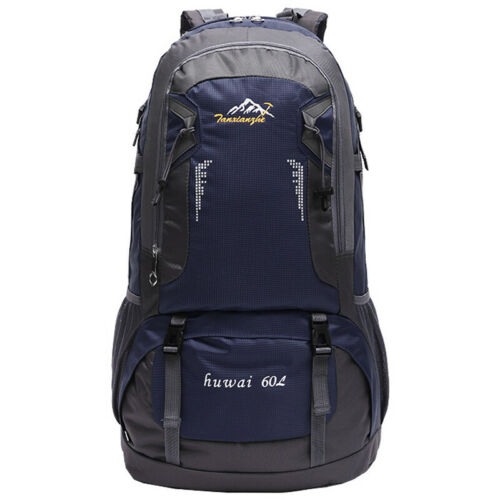 60L Backpack Rucksack Bag Waterproof Outdoor Camping Climbing Hiking Travel