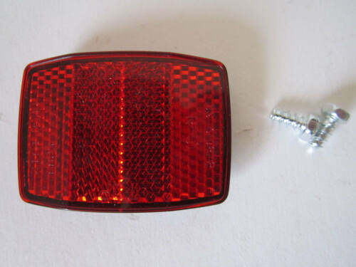 Fahrad Reflektor Vorn Rot Katzenauge Ersatz 5,8x4,2 cm