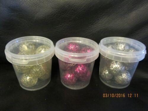 Dekokugeln Spiegelglaskugeln verschiedene Farben Kugeln