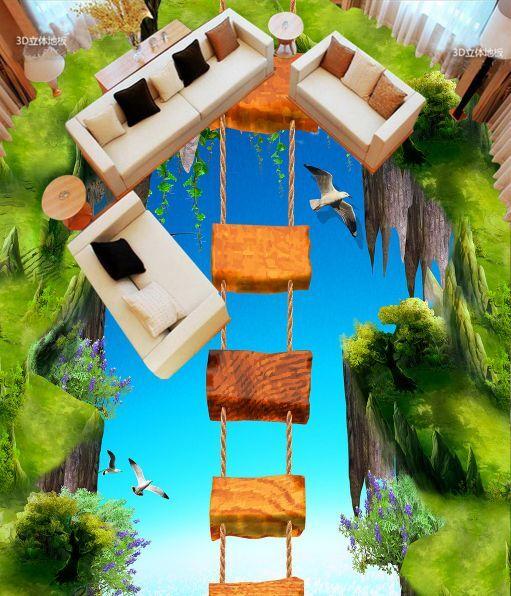 3D Ponte Levatoio 999 Pavimento Foto Wallpaper Murales Muro Stampa Decalcomania