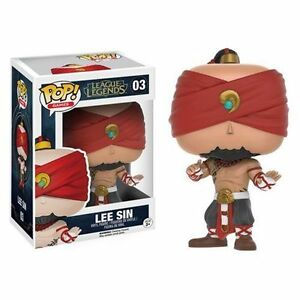 Funko-POP-Games-League-of-Legends-Lee-Sin-Vinyl-Figure-new-VAULTED-RARE-NIB