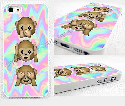 case,cover fits iPhone and samsung models>Tie Dye,monkey, Emoji,emojis,bright
