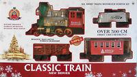 CHRISTMAS TRAIN SET - 24 PIECES - TRAIN SOUND/HEADLIGHT - 500CM'S OF TRACK