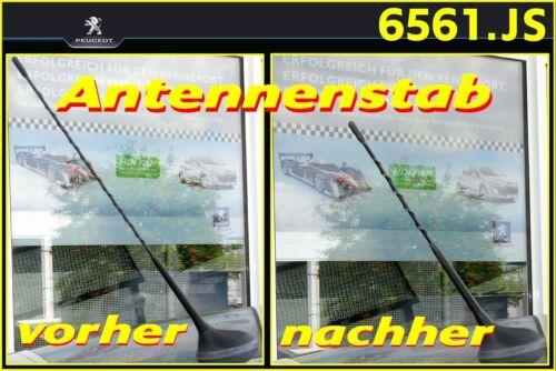 BRANCHER Antennenstab brièvement Original PEUGEOT seulement 28 cm de long OE 6561js