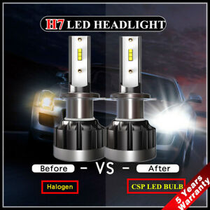 2X-110W-H7-LED-Headlight-CSP-Chip-Bulb-Kit-Canbus-Error-Free-30000LM-White-6000K