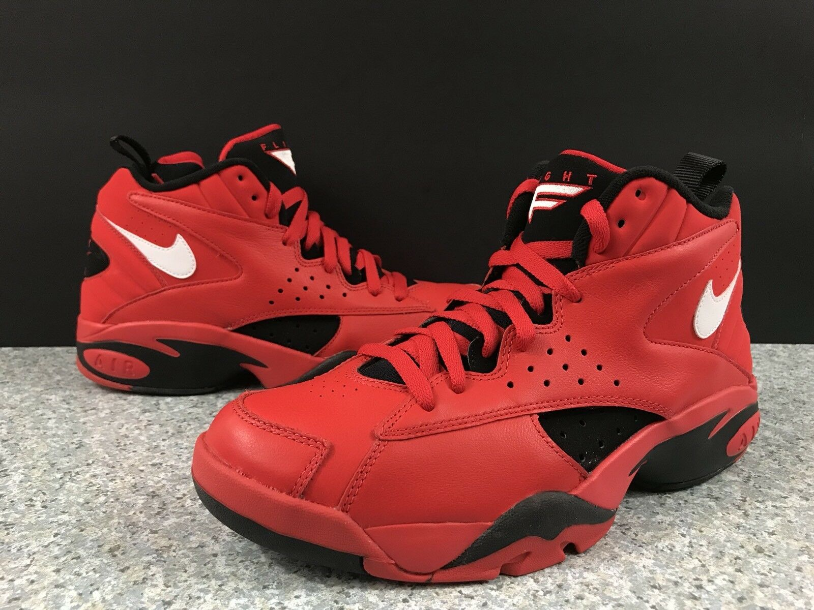 Nike Air Maestro 2 II QS Men's University Red Trifecta Black AJ9281 600 Sz 10
