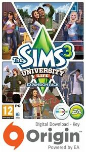 THE-SIMS-3-UNIVERSITY-LIFE-EXPANSION-PACK-PC-AND-MAC-ORIGIN-KEY