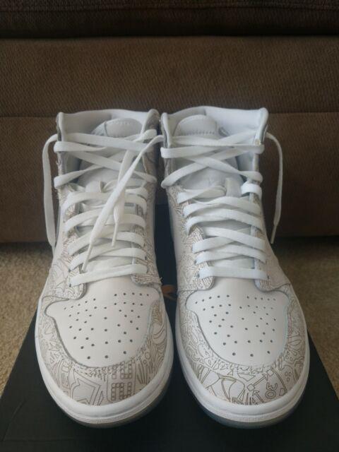 separation shoes 0fd20 521cb Nike Air Jordan 1 Retro Hi OG Laser 705289-100 Basketball 30th Anniversary  EDT