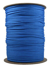 Colonial Blue - 550 Paracord Rope 7 strand Parachute Cord - 1000 Foot Spool