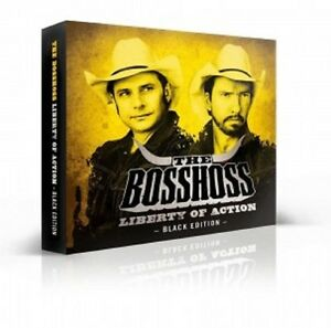 the bosshoss liberty of action black edition cd dvd. Black Bedroom Furniture Sets. Home Design Ideas