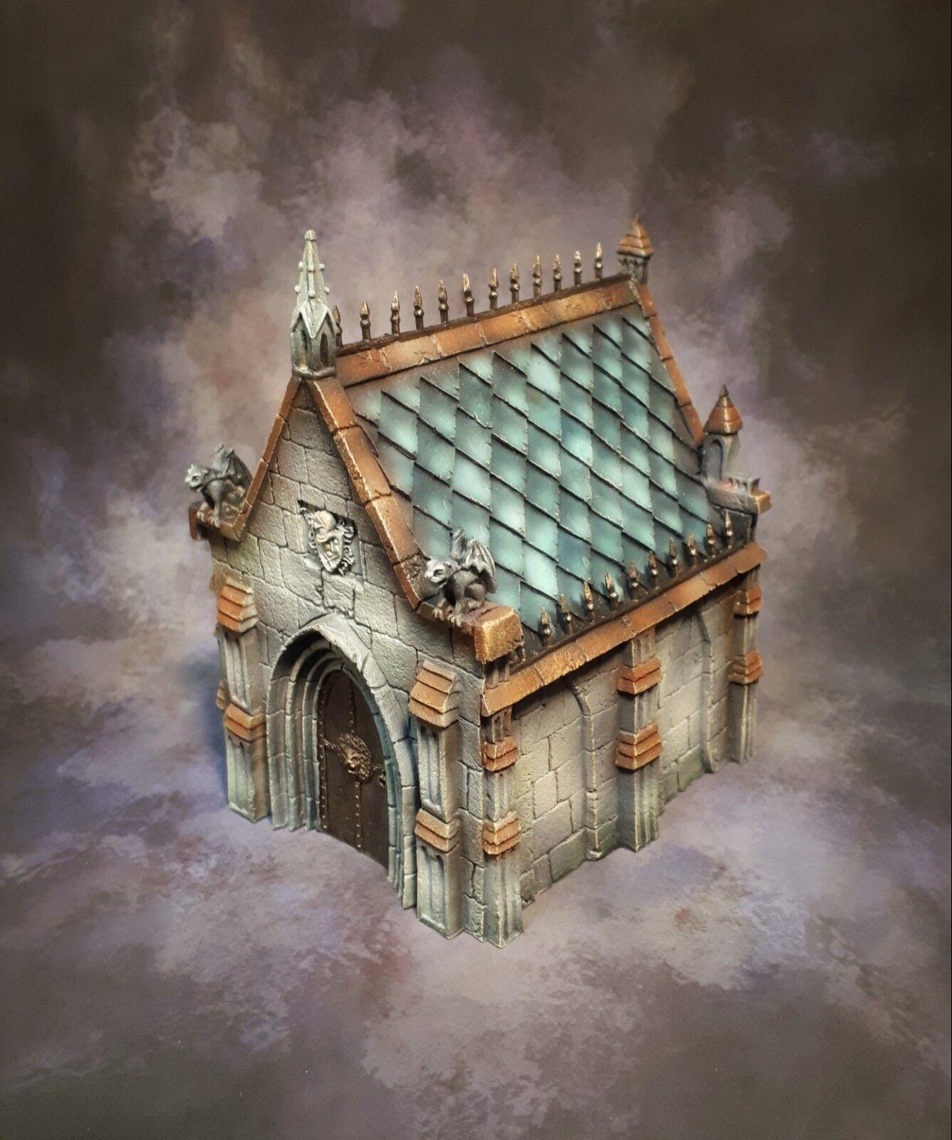 Tabletop World - Mausoleum - Pro-Painted