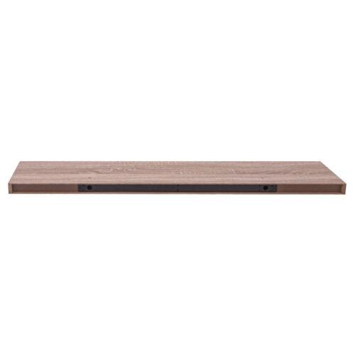 Hängeregal Wandboard Wandregal Schweberegal aus Holz Eiche Gelb 120cm 0120QJ