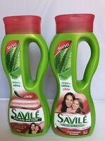 Shampoo & Conditioner Savile Sabila & Chile Healthy Hair Growth/ Crecimiento
