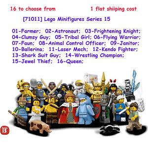 NEW LEGO MINIFIGURES SERIES 15 71011 Tribal Woman
