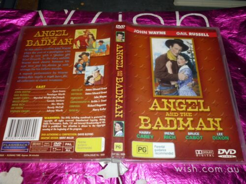 1 of 1 - ANGEL AND THE BADMAN (DVD, PG) (104753 A)