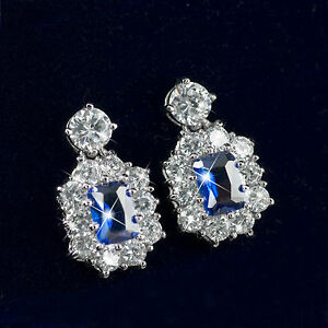 18k-white-gold-gf-made-with-blue-SWAROVSKI-crystal-stud-wedding-party-earrings