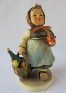 M I Hummel Goebel Porcelain Figurine VISITING AN INVALID Germany Mold 382