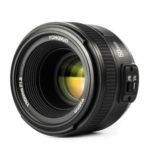 0ac4f4002d Yongnuo 50mm f/1.8 Standard Lens for Nikon for sale online | eBay