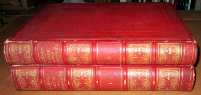 2 Books 1869 PAUL MARCOY FRENCH EXPEDITION TO PERU BRAZIL SOUTH AMERICA BOTANY