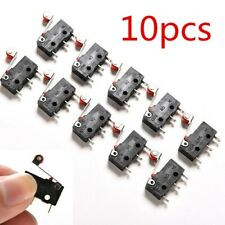 10x Micro Roller Lever Arm Open Close Limit Switch Kw12 3 Pcb Microswitch Replac