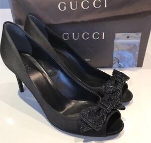 Gucci-Shoes-Swarovski-Crystals-40-7-100-Authentic
